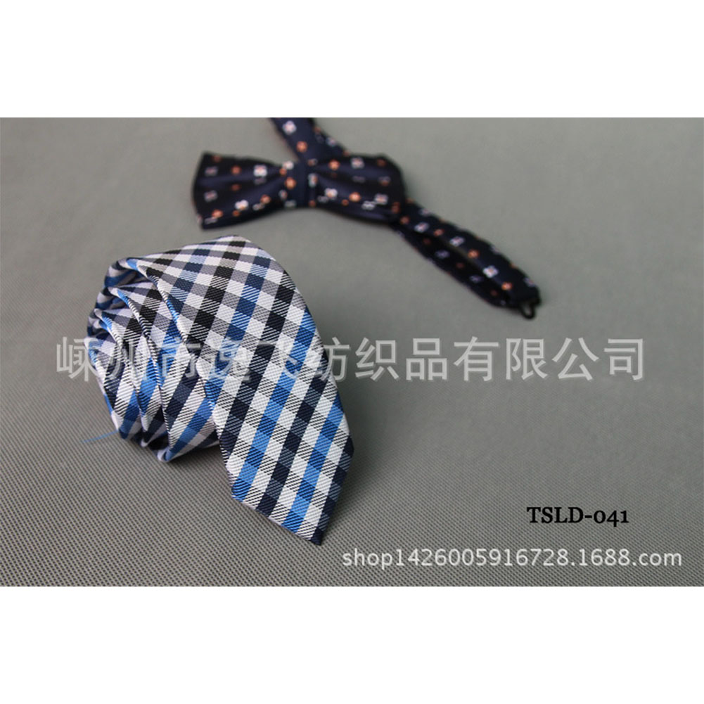 5cm Skinny Tie Classic Silk Solid Dot Narrow Slim Necktie Accessories Wedding Banquet Host Photo TSLD-041