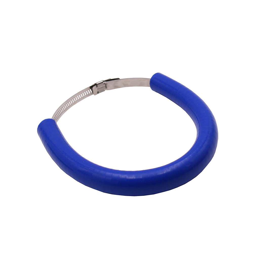 Motorcycle Accessories Silencer/Round Oval Exhaust Protector Can Cover for KTM EXC-F/EXC/SX-F 450/350/530/525/500   blue