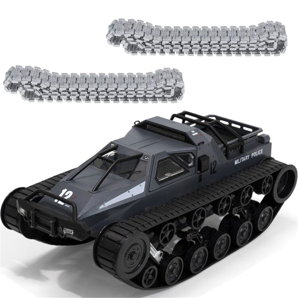SG 1203 World of RC Tank Car 2.4G 1:12 High Speed Full Proportional Control Vehicle Models Wading Depth With Gull-wing Door Metal Crawler gray 2 batteries