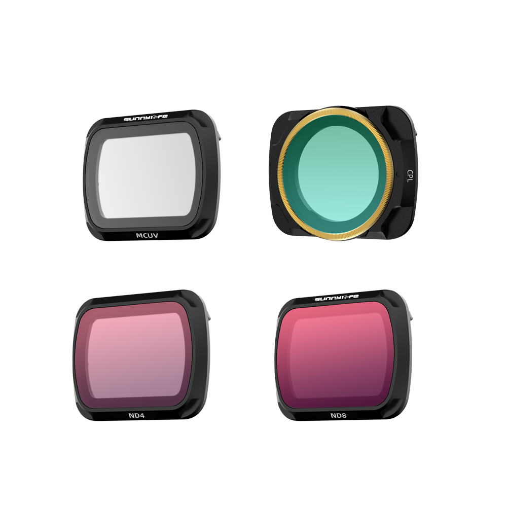 Done Filter For DJI Mavic Air 2 Filters Neutral Density Polar For DJI Mavic Air 2 Camera Accessories UV+CPL+ND4/8/16/32 NDPL Set Mix and match four piece set