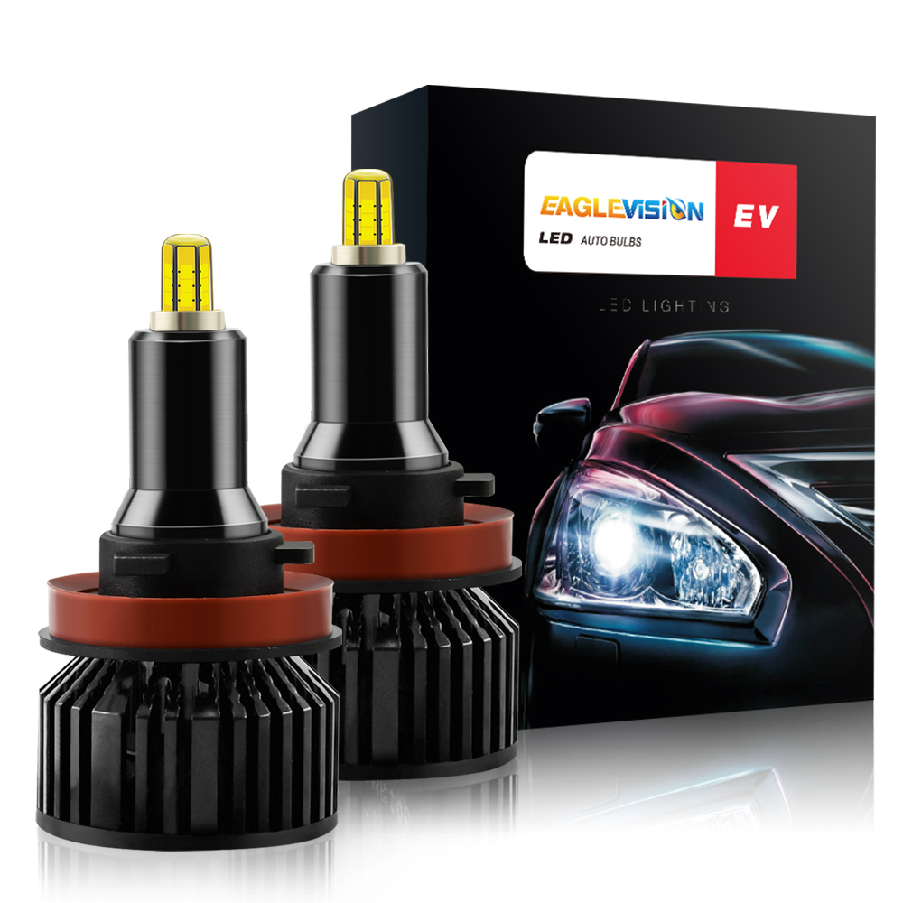 1 Pair Aluminum V8 Led Car Headlights Led Headlights Bulbs Car High Power Headlight H11