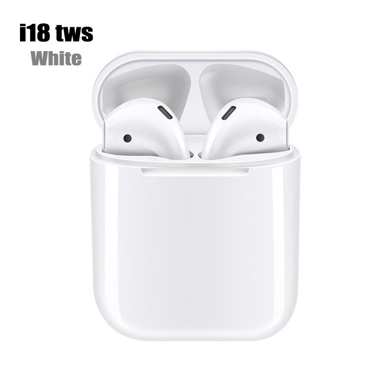 i18 tws Bluetooth 5.0 Earphone white