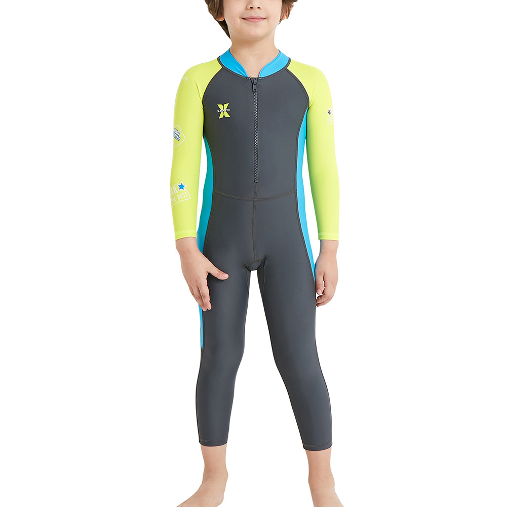 Kids One Piece Swimsuit For Diving Swimming