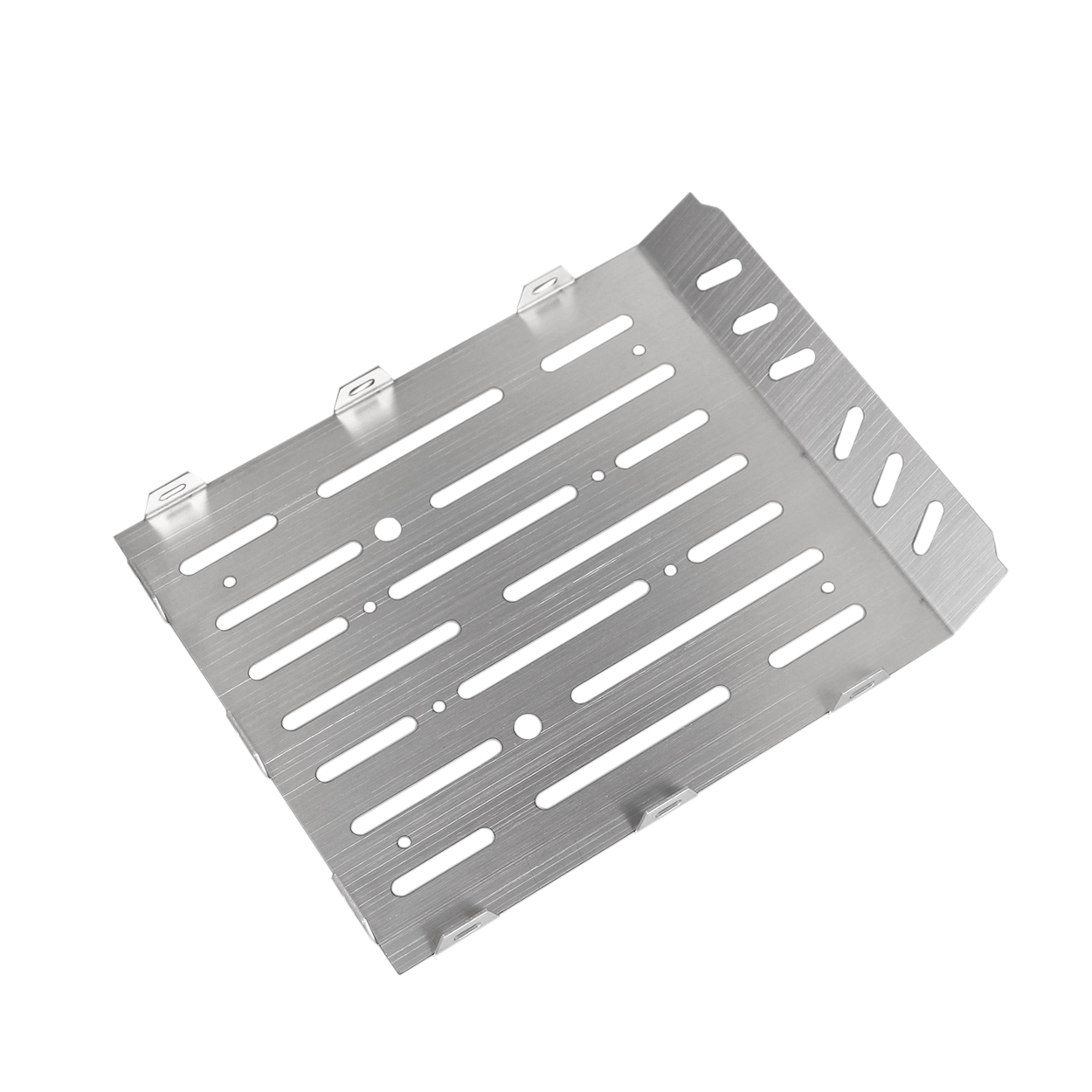 Stainless Steel Trunk Tail Box Plate Guard for Mercedes-benz TRX6 G63 6X6 1/10 RC Crawler Car Upgrade Parts Silver