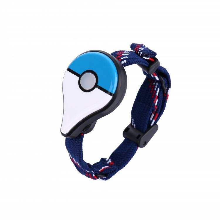 For Pokemon GO Plus Bluetooth Wristband Bracelet Interactive Figure Toys for Nintend Switch Pokemon Go Plus Blue and white manual