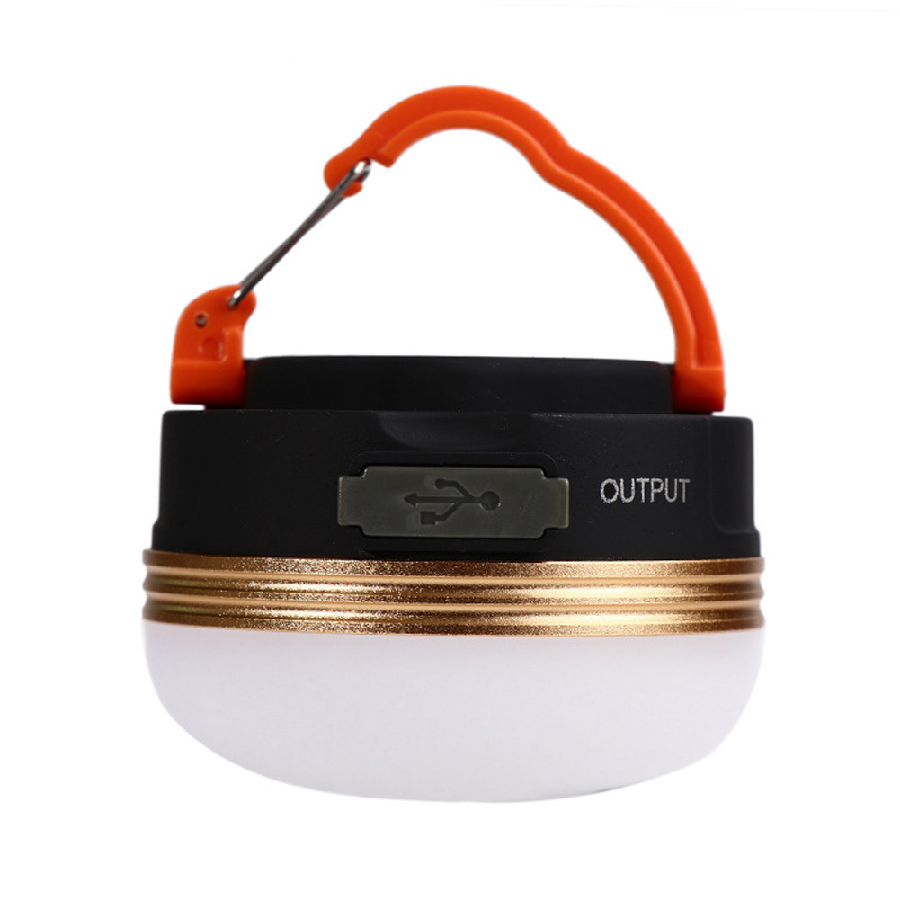 Camping Tent Light Usb Charging Camping Lights LED Outdoor Tents Light Emergency Flashlight Charging orange