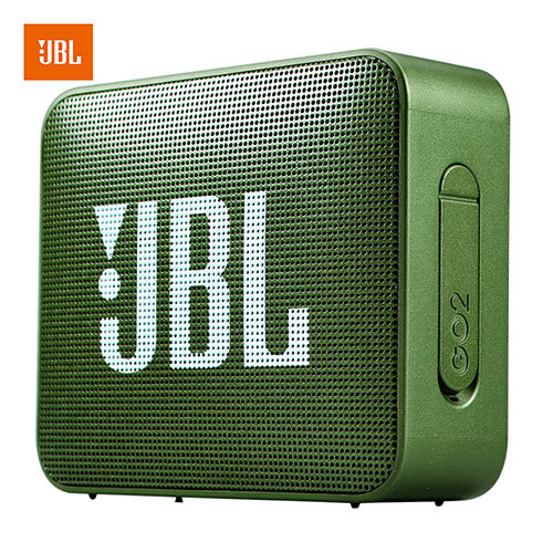 JBL GO2 Wireless Bluetooth Speaker Waterproof Outdoor Portable Car Sports Bass Sound with Mic Forest green