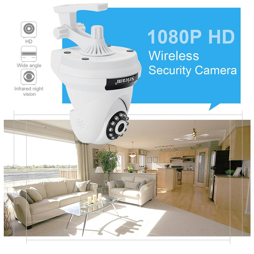 AU Plug Sricam SP018 2.0MP Home Security IP Camera Wireless Smart WiFi Camera Baby Monitor Night Vision CCTV Camera