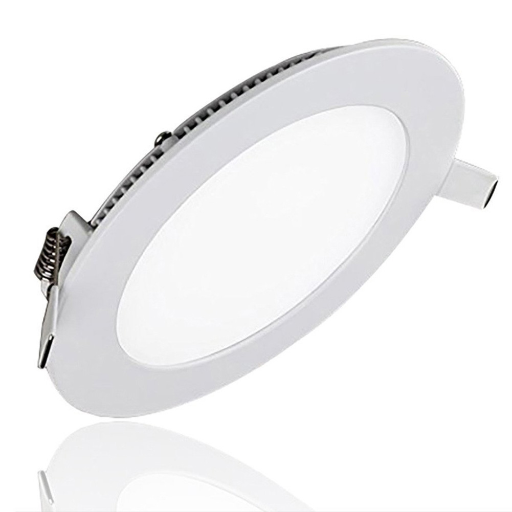 6500K Ultra-thin and Dimming LED Round Panel Lamp Light 3W (Hole Size:7-8CM)