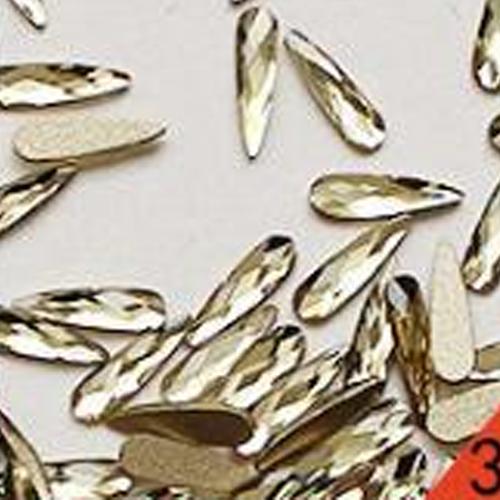 10Pcs/Lot 3D Nail Art Decorations Water Drop Diamond Glitter Crystal Rhinestone Tips DIY Nails Accessories
