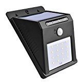 [US Direct] Solar Light, 16 LED Outdoor Solar Powerd,Wireless Waterproof Security Motion Sensor Light