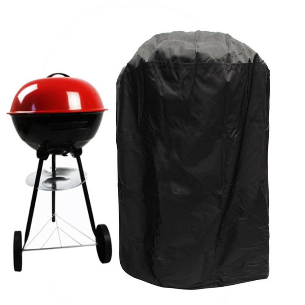 Polyester BBQ Rack Cover For Weber Waterproof Dustproof Cover Grill Accessories Circle 70*high 96CM