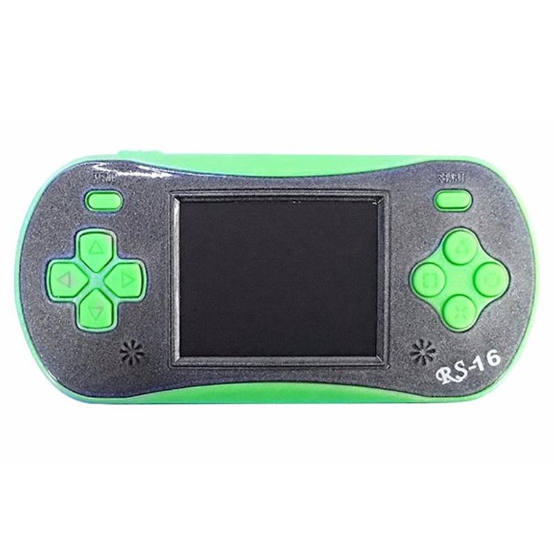 Children Pocket Video Game Player Exquisite Game Machine Birthday Festival Gift green