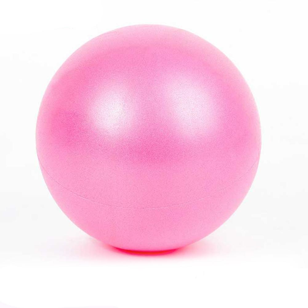 Yoga Pilates Fitness Balance & Stability Mini Anti Burst PVC Exercise Posture Ball   Pink