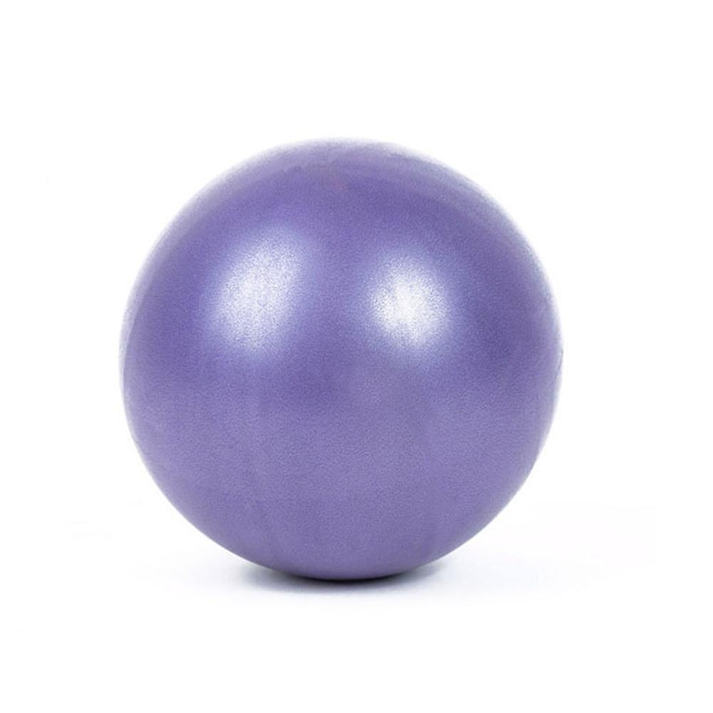 Yoga Pilates Fitness Balance & Stability Mini Anti Burst PVC Exercise Posture Ball   purple