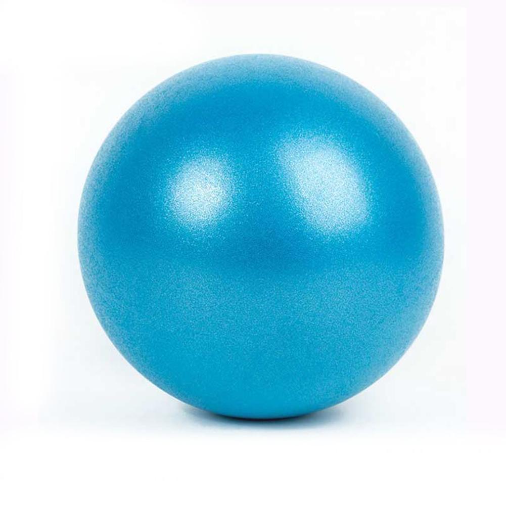 Yoga Pilates Fitness Balance & Stability Mini Anti Burst PVC Exercise Posture Ball   blue