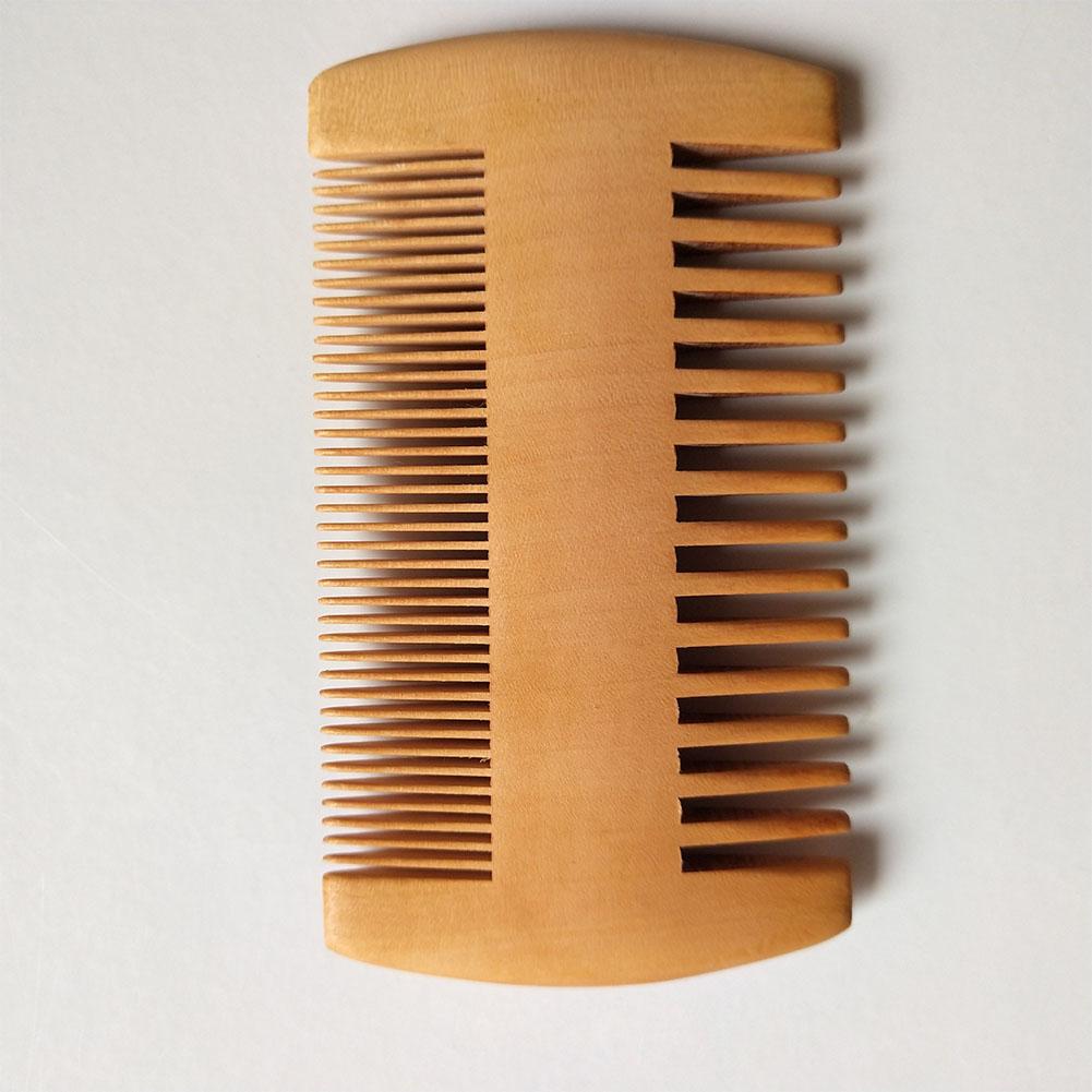 Double Side Wooden Comb for Beard Hair Grooming Tool Walnut beard comb