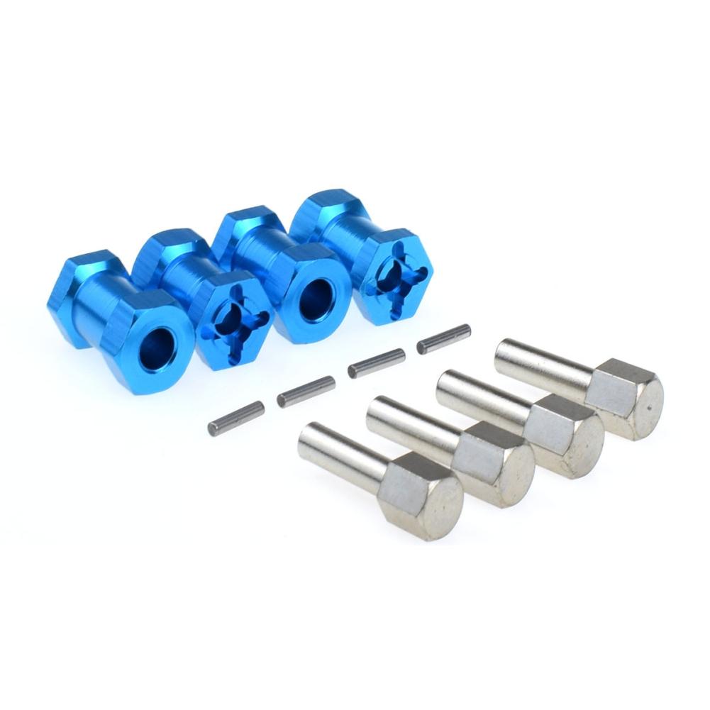 12MM Longer Combiner for Rc Car CC01 AXIAL AX10 SCX10 Upgrade Parts blue