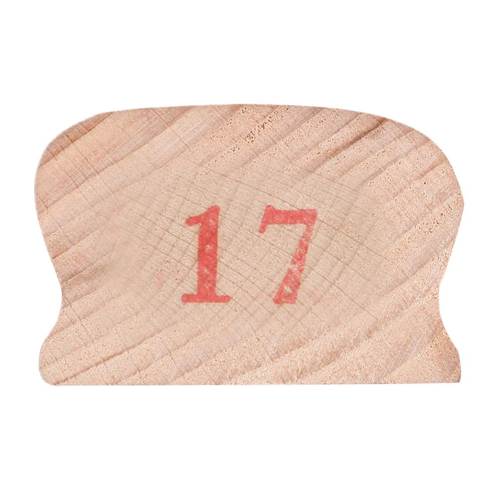 Wooden Polished Block for Guitar Bass Fret Leveling Fingerboard Luthier Tool + 2 Sandpaper 17#