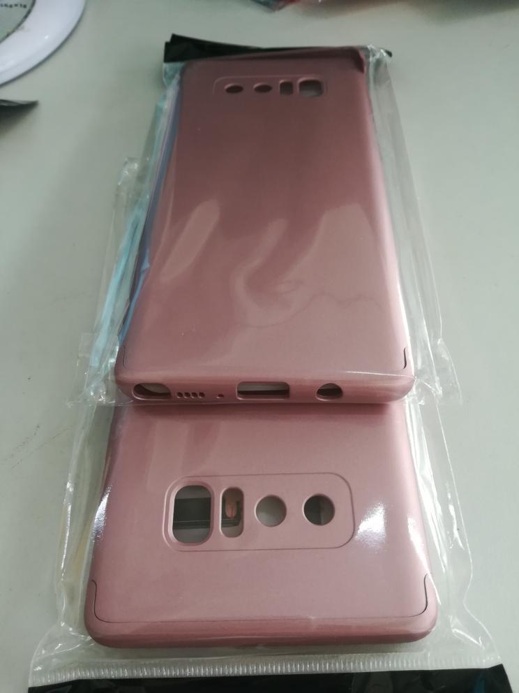 Slim Armor Hard Case For Samsung S8/S8 Plus/Note 8 3-in-1 360 Degree Full Body Protection Back Cover Case