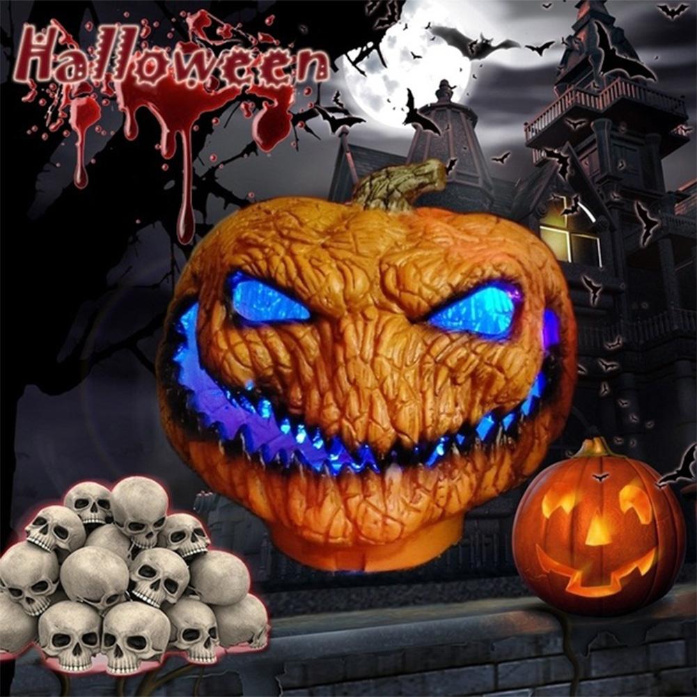 Scary Halloween Series Pumpkin Lamp Spirit Festival Party Decorative Prop Length 35CM width 25CM height 30CM