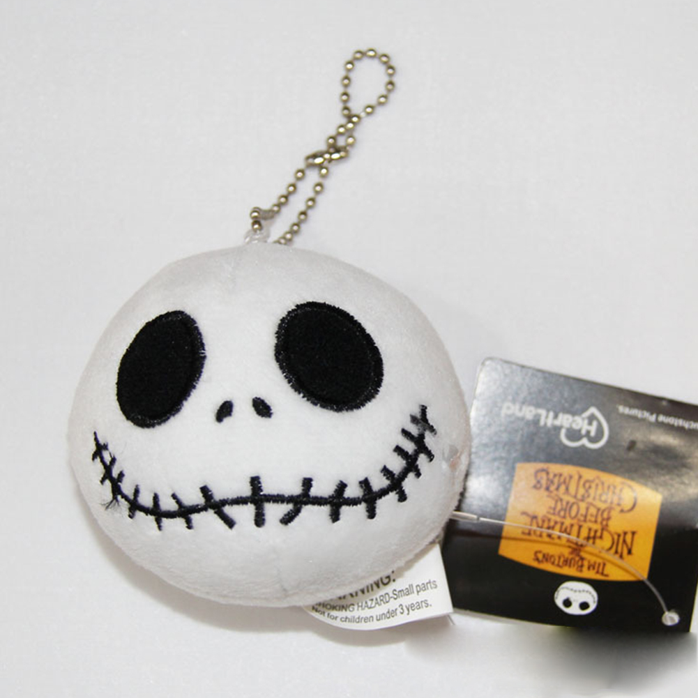 Nightmare Before Christmas Jack Happy Plush Ornament Doll Random Style