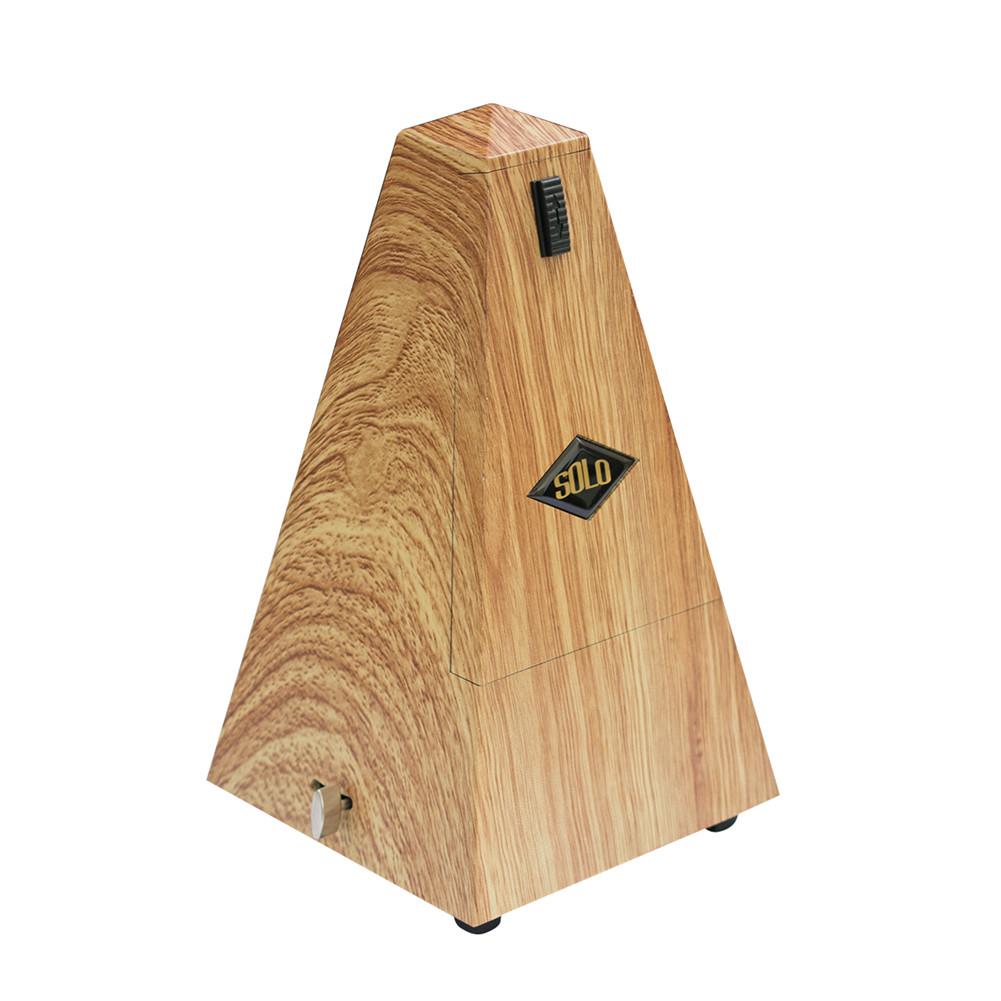 SOLO SLM -360 Piano Guitar Violin Mechanical Metronome Stringed Instrument Metronome Guitar Parts light wood color