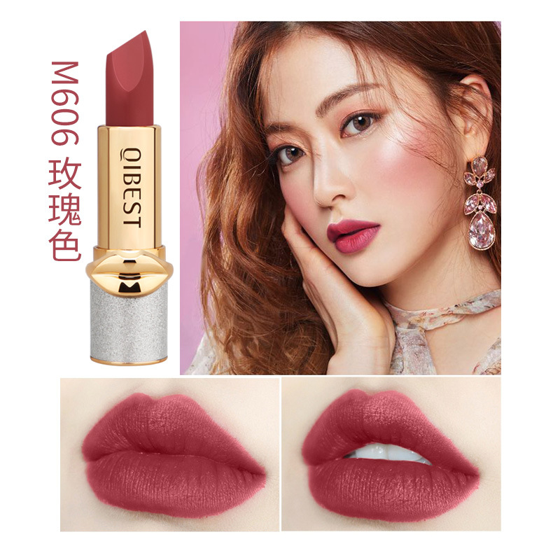 Velvet Matte Lipstick Long Lasting Waterproof Nonstick Cup Lip Gloss