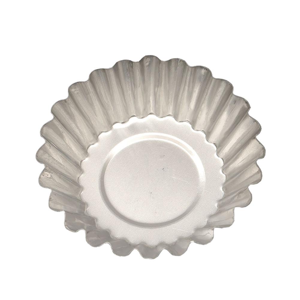 1PCS Aluminum Alloy Egg Tart Mould Baking Tool for Cupcake Fruit Tart