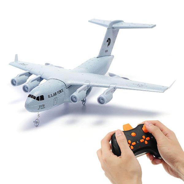 C17 C-17 Transport 373mm Wingspan EPP DIY RC Airplane RTF gray