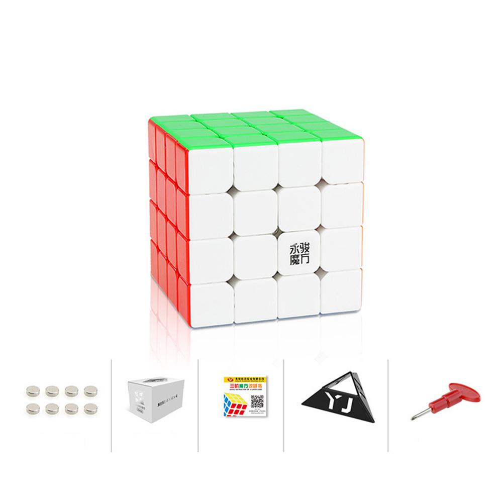 Magic Cube Yj Yongjun Zhilong Magic Cube Mini Magnetic Cube Educational Toy 4x4x4