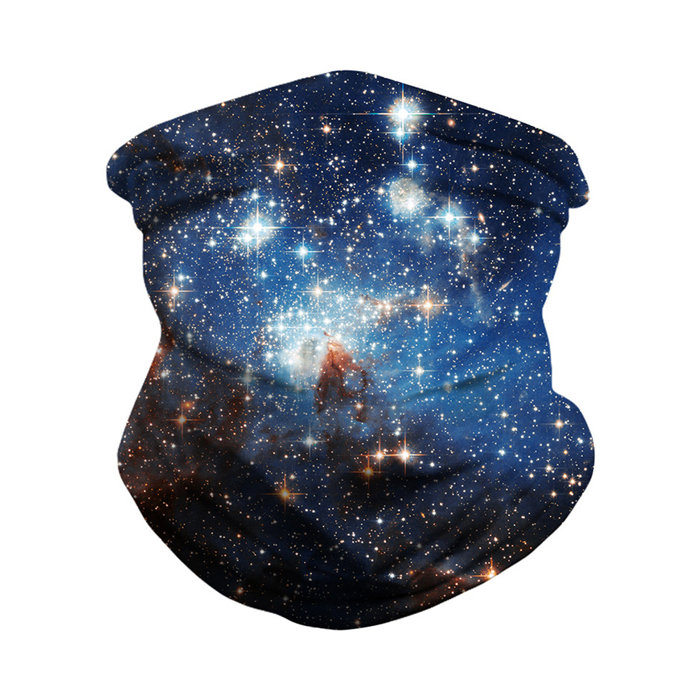 Outdoor Sports Mask Dust-proof Insect-proof Multi-functional Capless Hat Digital Printing Magic Turban BXHA024_Free size