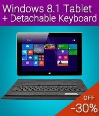 meegopad f10 windows 8.1 tablet pc with keyboard