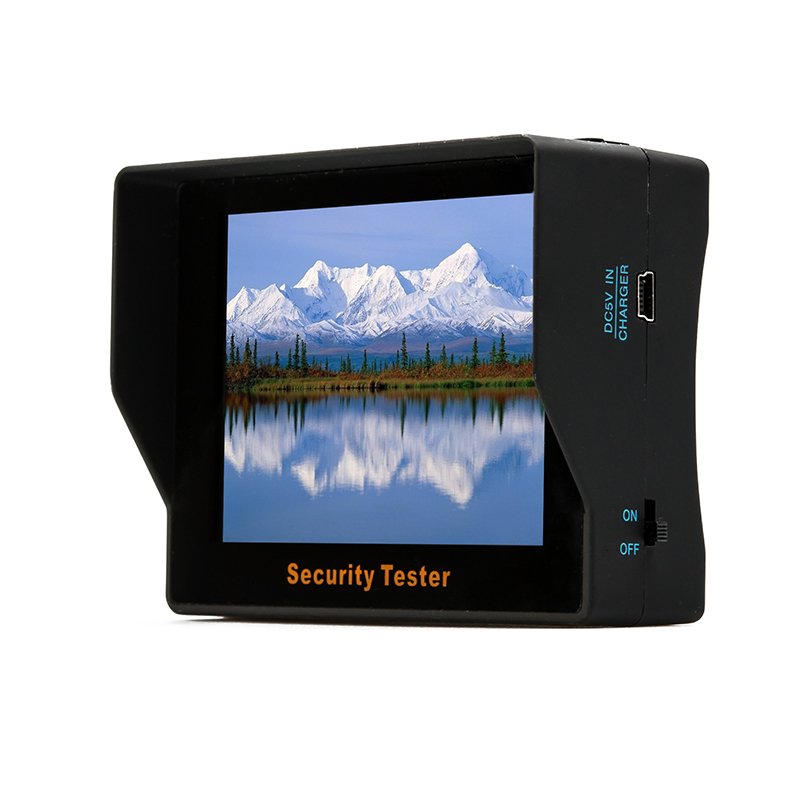 CCTV Tester with 3.5 Inch Monitor LCD Screen