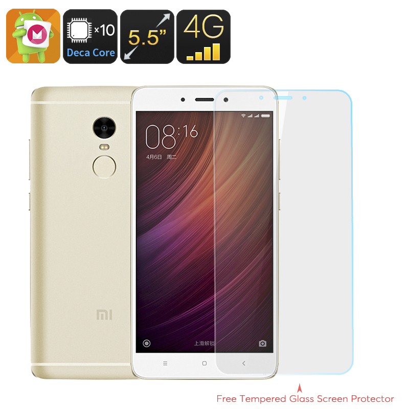 Xiaomi Redmi Note 4 16GB Smartphone (Gold)