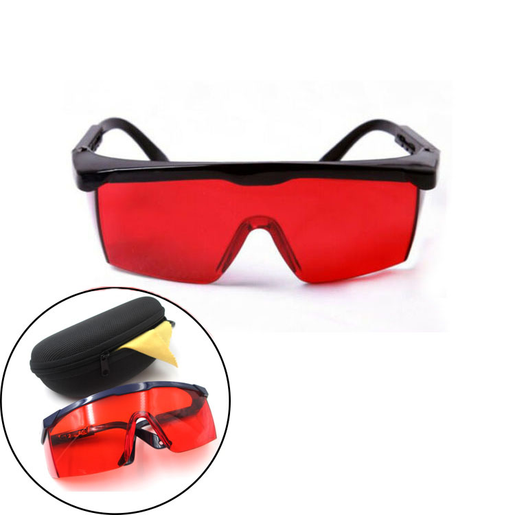 Anti UV Shortwave 254nm Ultraviolet Light Eyes Protection Safety Glasses Goggles red