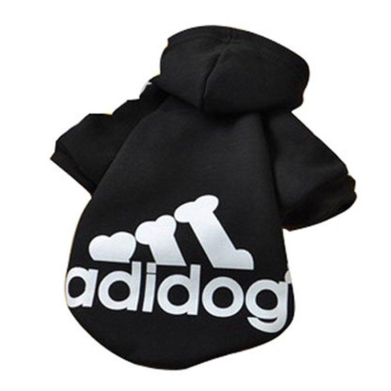 [EU Direct] Eastlion Adidog Pet Puppy Dog Cat Coat Clothes Hoodie Sweater Costumes