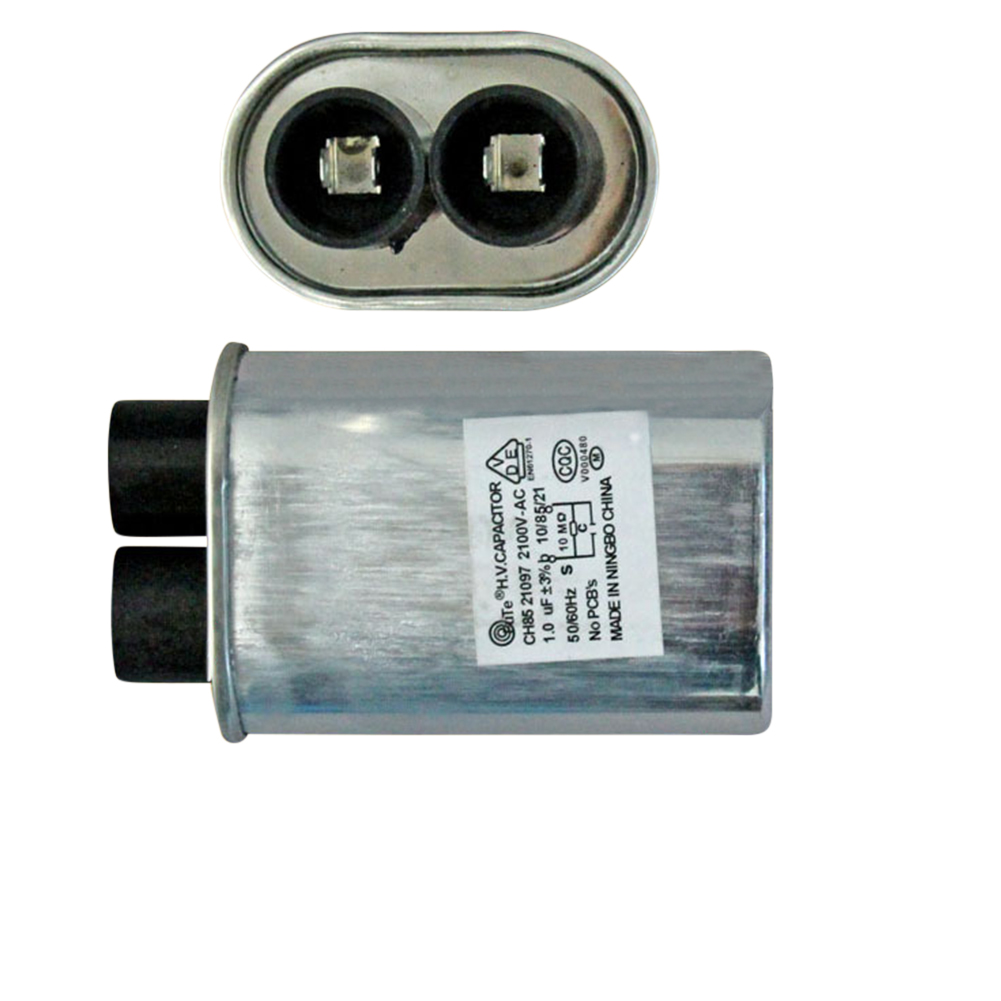 [EU Direct]  0.92uF 2100V High Voltage HV Capacitor Replacement for Microwave Oven