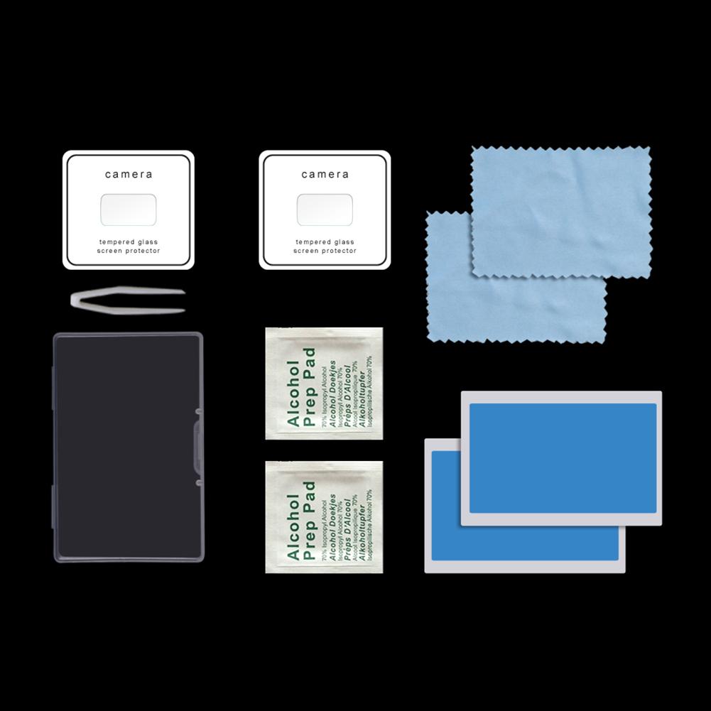 2pcs/set Lens Protective Film for DJI Mavic Mini Drone Camera HD Tempered Glass Anti-Scratch Film Lens Protector  Transparent