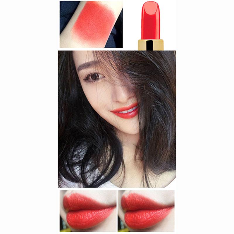 NOVO Charming Lipstick Women Fashion Waterproof Long-lasting Moisturizing Diamond Lipstick
