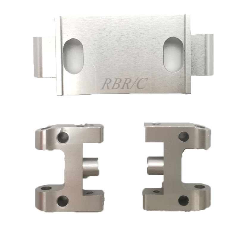 WPL D12 Simulate Metal Upper Arms for Drift RC Car DIY Model Toy Accessaries Silver_1:16