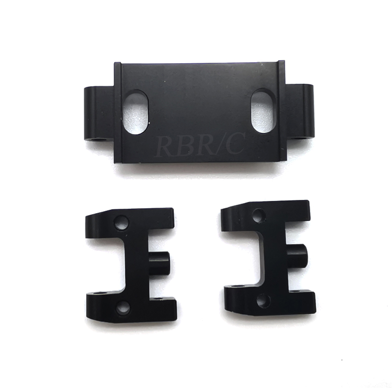 WPL D12 Simulate Metal Upper Arms for Drift RC Car DIY Model Toy Accessaries Black_1:16