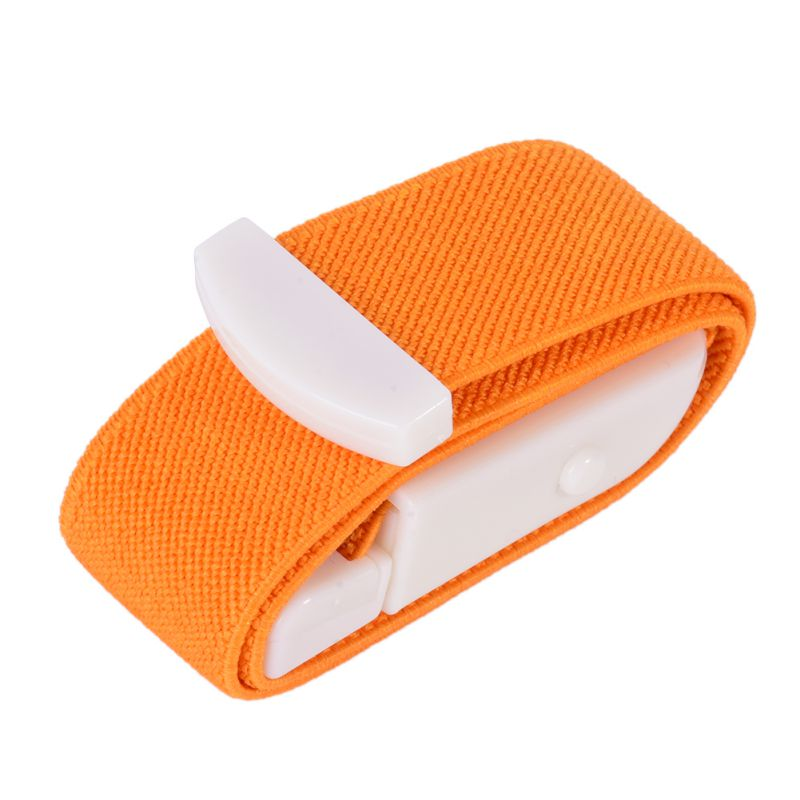 Emergency Tourniquet with Buckle Quick Slow Release Camping Medical Paramedic Sport Survival Gear SOS Rescate Blood Bend Orange_2.5cm*40cm