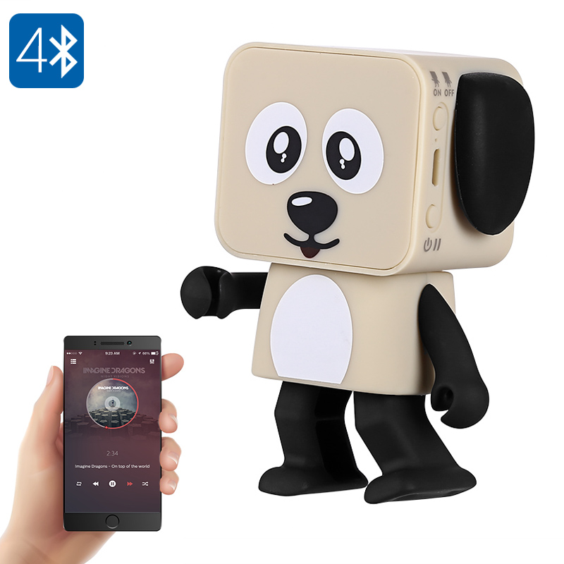 Dancing Bluetooth Speaker - 5 Watt, Blutooth 4.0, 800mAh Battery, Adorable Design