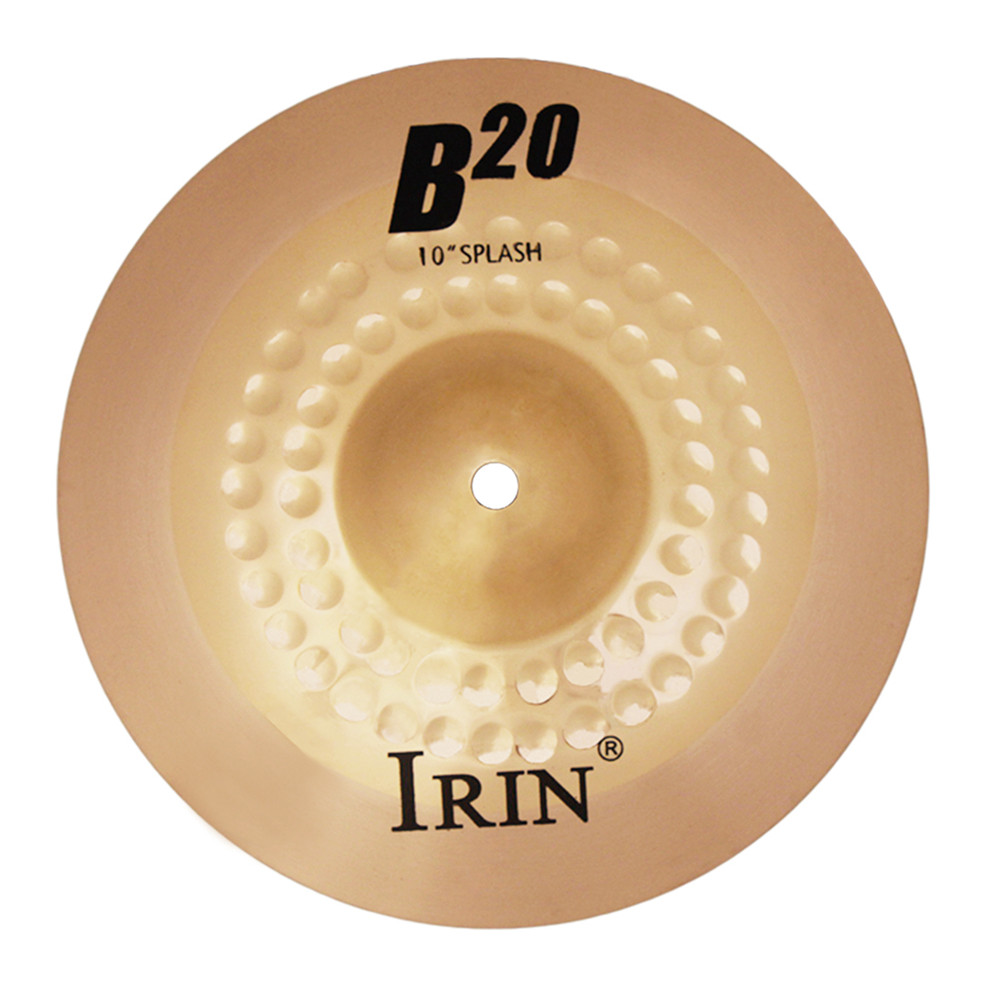 10 Inch  B20  Cymbal Professional Bronze  Cymbal  for  Drum Set 24.2*24.2CM