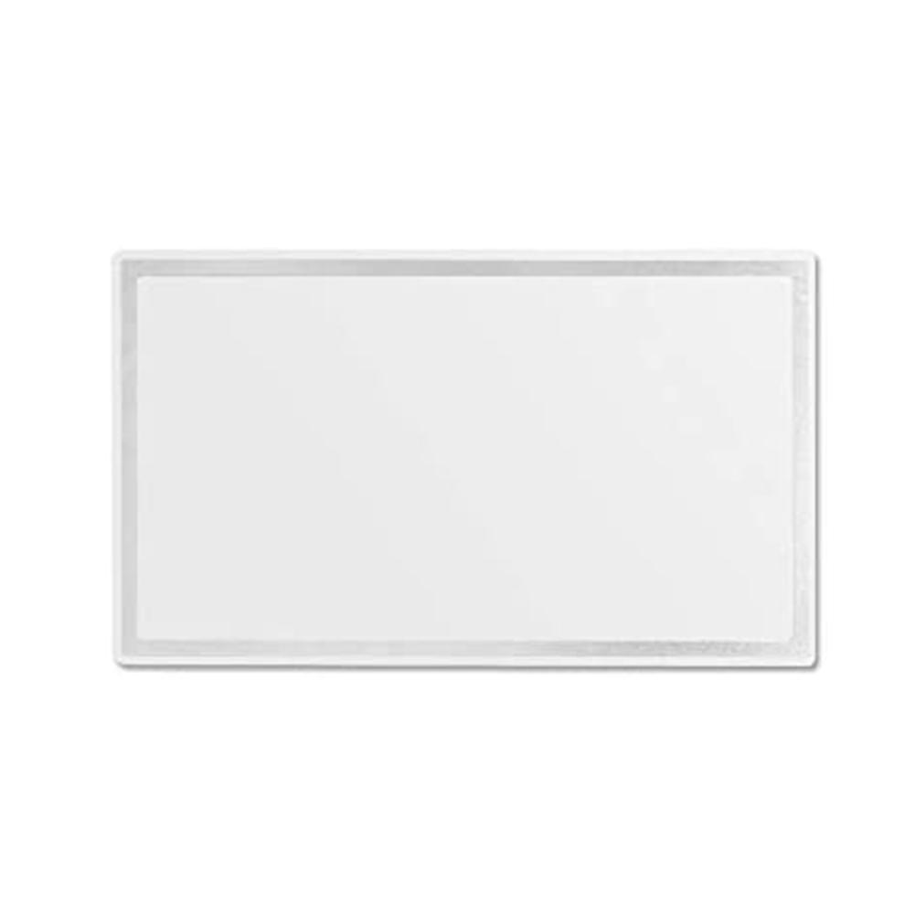 Car  Visor  Mirror Seatback Makeup Mirror Stainless Steel Makeup Travel Vanity Mirror 150*80*1mm