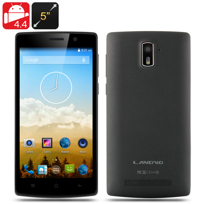 Landov L200 Quad Band Smartphone (Black)