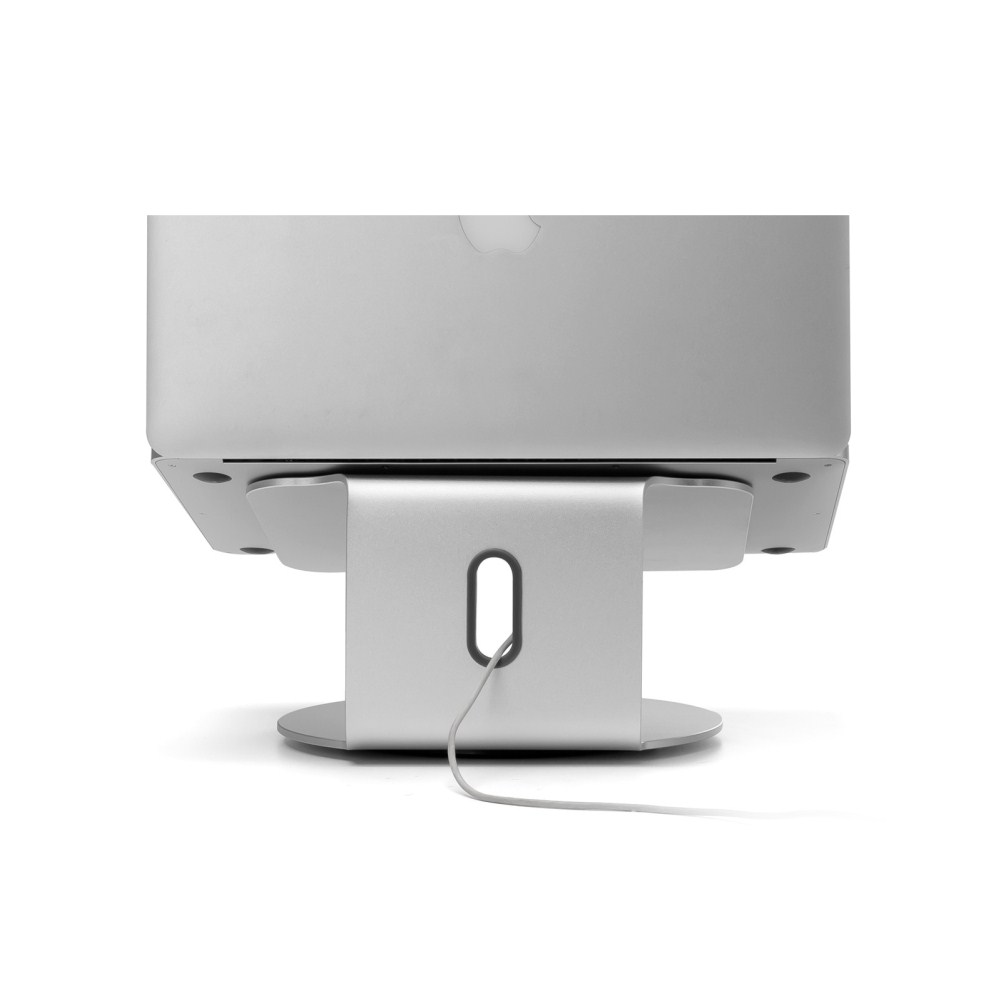 360 Degrees Rotation Aluminum Alloy Laptop Stand Heat Dissipation Notebook Computer Stand Silver