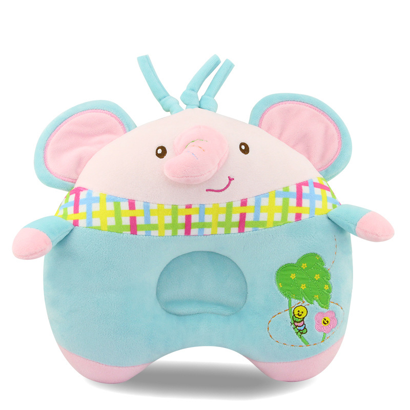 Lovely Baby Plush Animal Sleep Pillow Soft Neck Protector Head Support Nursing Pillow for Newborn