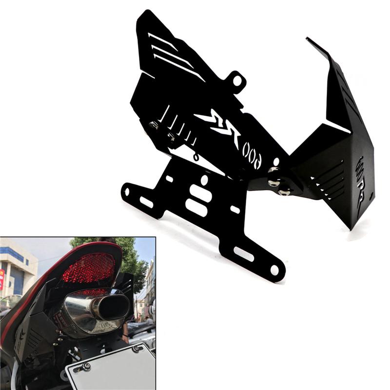 License Plate Holder For HONDA CBR600RR F5 07-12 Motorcycle Eliminator Registration Plate Bracket black